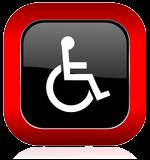 Behinderte Person